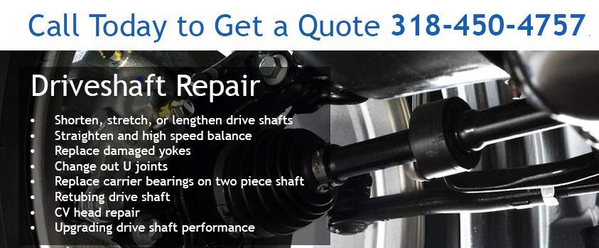 Driveshaft Rebuild and Repair - Consolidated Truck Parts